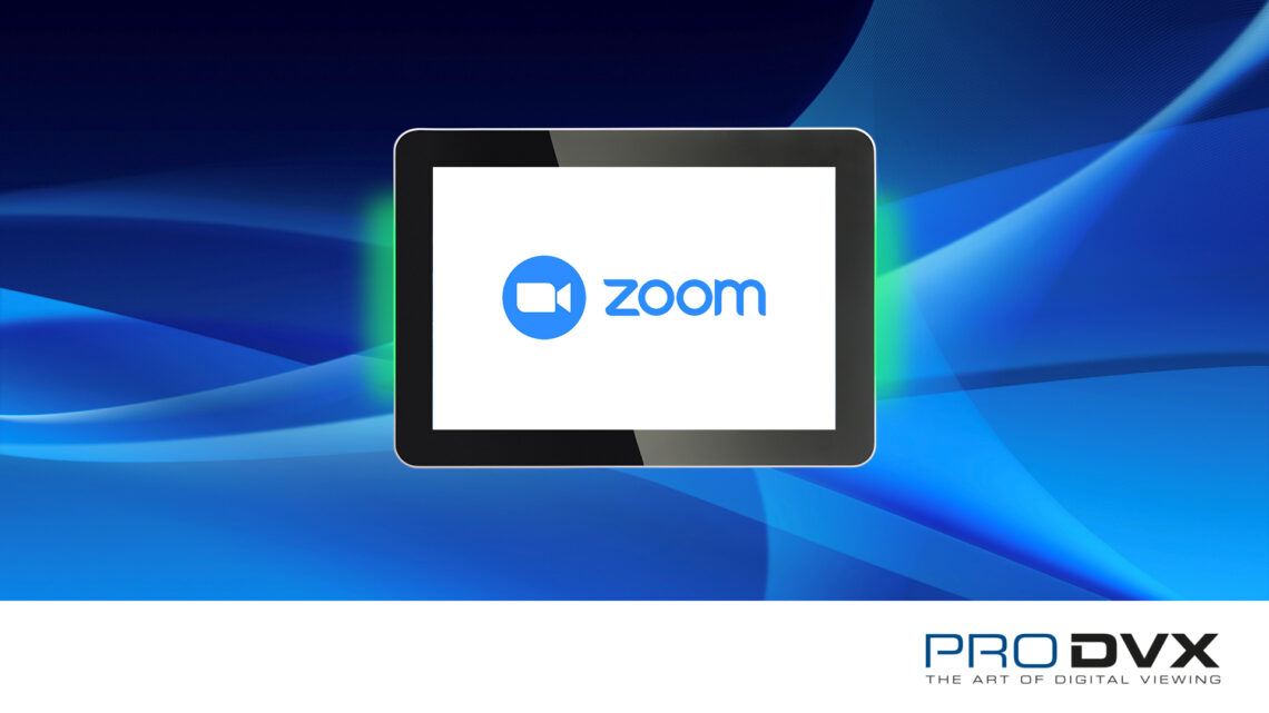 ProDVX Zoom Partnership