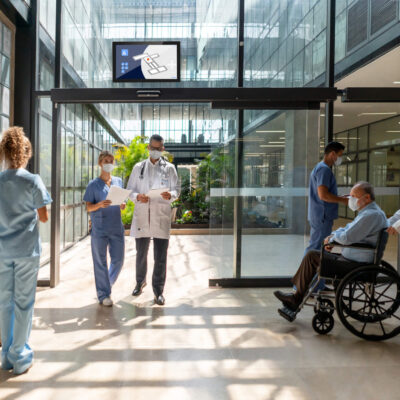 Patient experience in a hospital