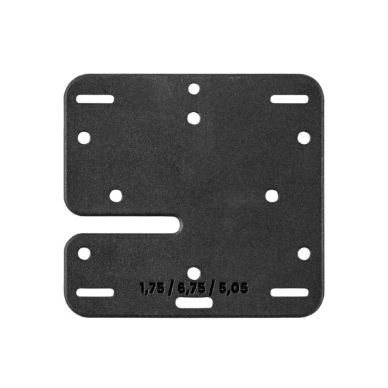 99991010 160 GM 75 Single Plate back s1800x